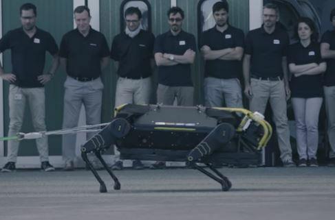 El robot HyQReal para salvar vidas en desastres naturales