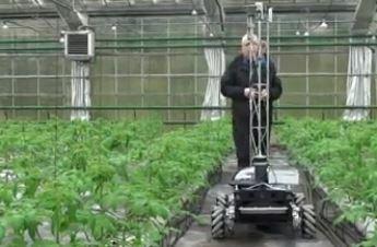 El vehículo robotizado Green Patrol creado para ampliar las cosechas