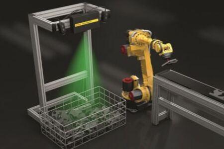 El nuevo sensor de visión de Fanuc consigue capturar imágenes a 2 metros de distancia
