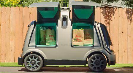 El vehículo eléctrico y autónomo Nuro que ya opera en California