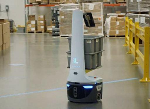 DHL añade 1.000 robots de Locus Robotics