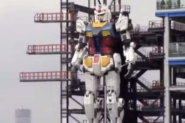 Gundam Global Challenge, el robot diseñado en Japón réplica de los robots de Anime