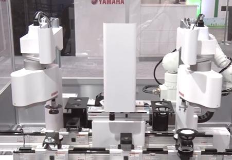 Yamaha Motor Europe anuncia sus 2 nuevos robots industriales